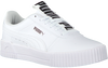 Witte PUMA Lage sneakers CARINA BOLD  - small