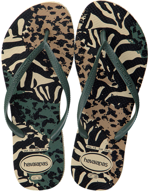 Groene HAVAIANAS Teenslippers SLIM ANIMALS  - large