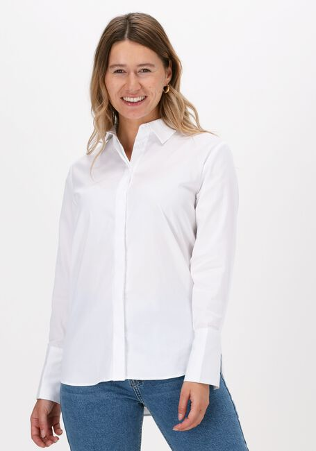 Witte LEVETE ROOM Blouse LR-ISLA SOLID 7 - large