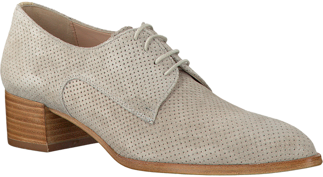 Beige PERTINI Veterschoenen 14584  - large