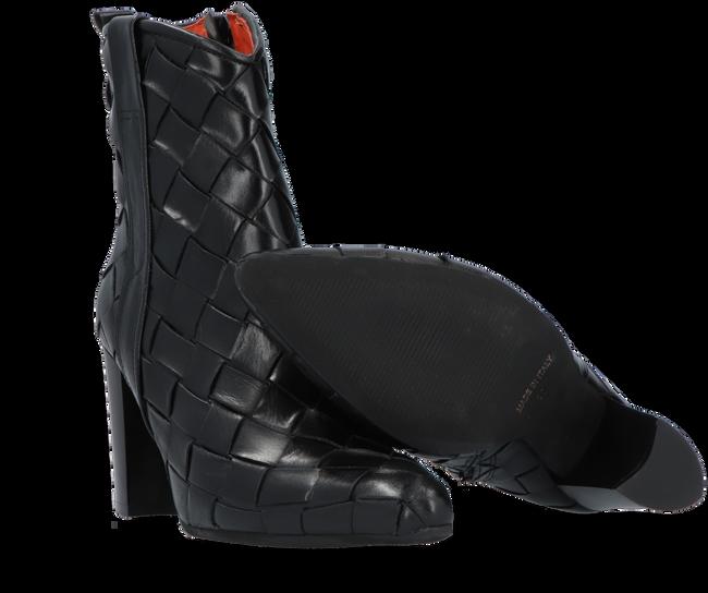 Zwarte NOTRE-V Enkellaarsjes 09B-202  - large