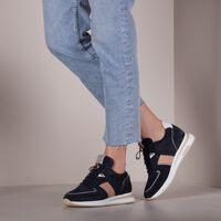 Blauwe VIA VAI Lage sneakers NORA SUE  - medium