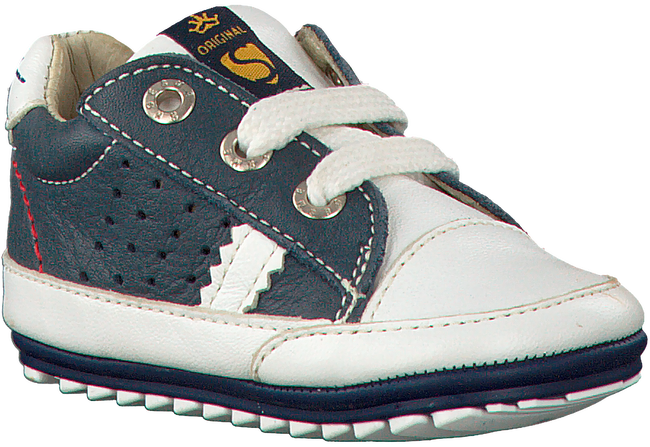 Blauwe SHOESME Babyschoenen BP8S007  - large