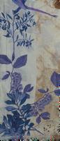 Blauwe NOTRE-V Sjaal INDIA  - medium