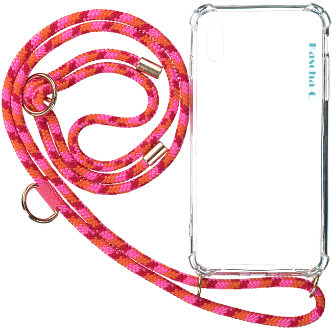 Roze KASCHA-C Telefoonkoord PHONECORD IPHONE XR  - large