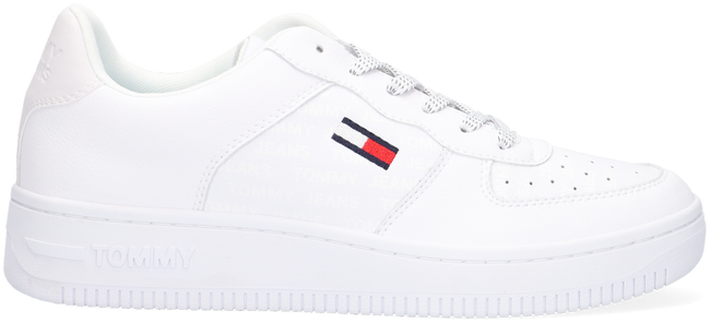 Witte TOMMY HILFIGER Lage sneakers REFLECTIVE CUPSOLE - large