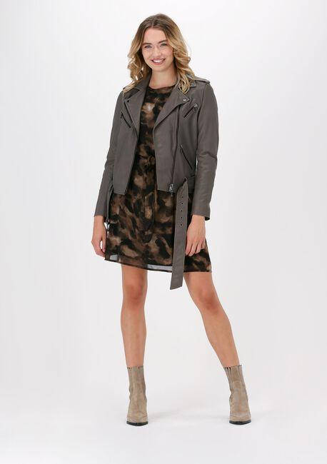 Bruine FREEBIRD Mini jurk XENI - large