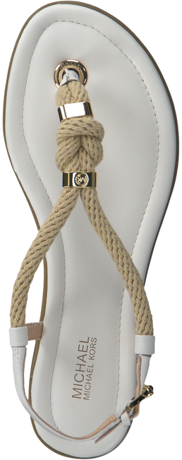 Witte MICHAEL KORS Sandalen HOLLY SANDAL  - large