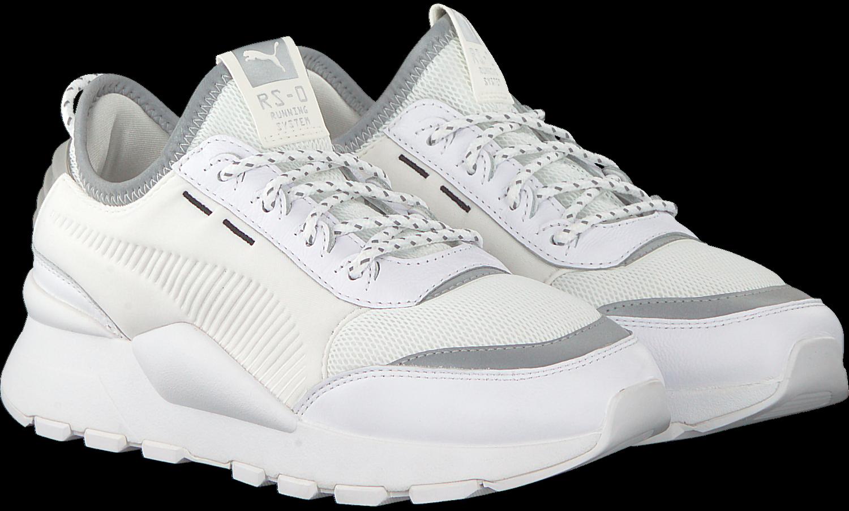 Witte PUMA Sneakers RS-0 OPTIC POP DAMES   Omoda