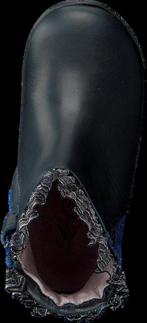Blauwe LE CHIC Lange laarzen RUFFLE FLOWER  - large