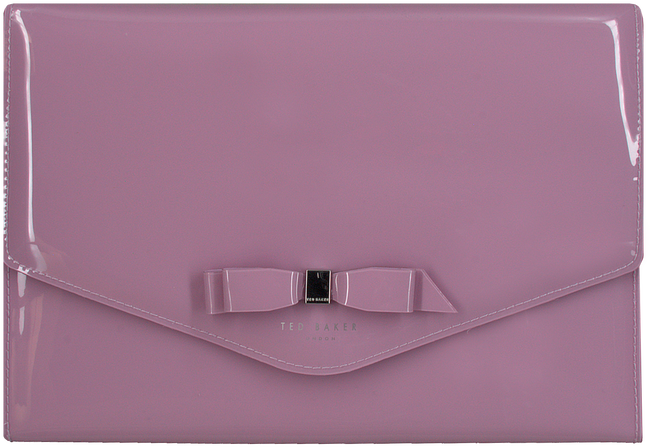 Paarse TED BAKER Clutch CERSEI  - large