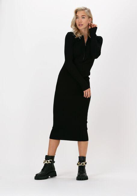 Zwarte ENVII Maxi jurk ENAGATHE DRESS 5253 - large