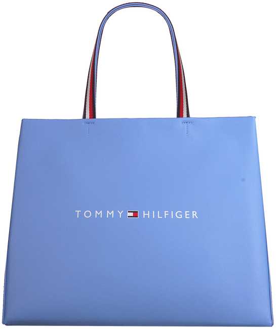 Blauwe TOMMY HILFIGER Shopper TOMMY SHOPPING BAG  - large