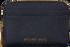 Blauwe MICHAEL KORS Portemonnee ZA CARD CASE - small