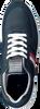 Blauwe TOMMY HILFIGER Lage sneakers MODERN CORPORATE RUNNER  - small