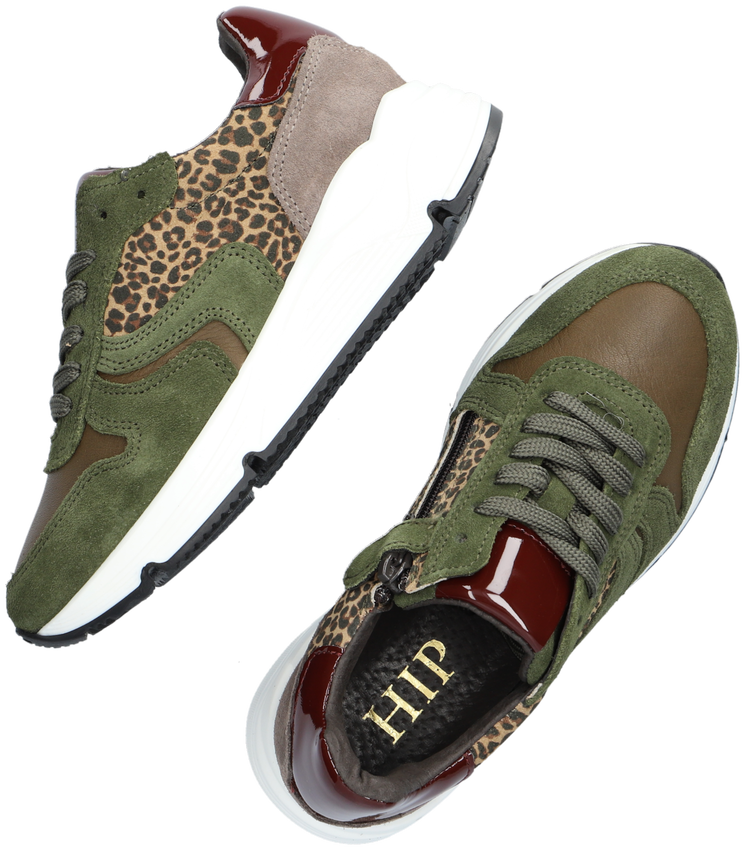 Groene HIP Lage sneakers H1918  - larger