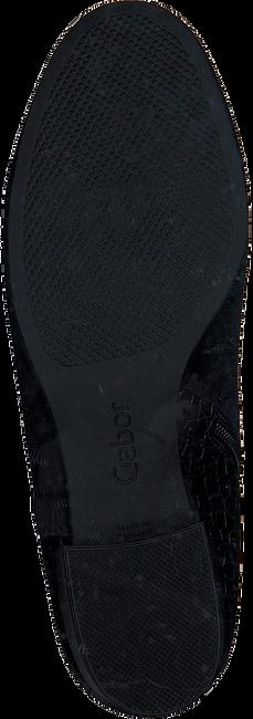 Zwarte GABOR Enkellaarsjes 812  - large
