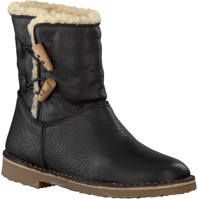 Zwarte OMODA Lange laarzen 8129C0  - large