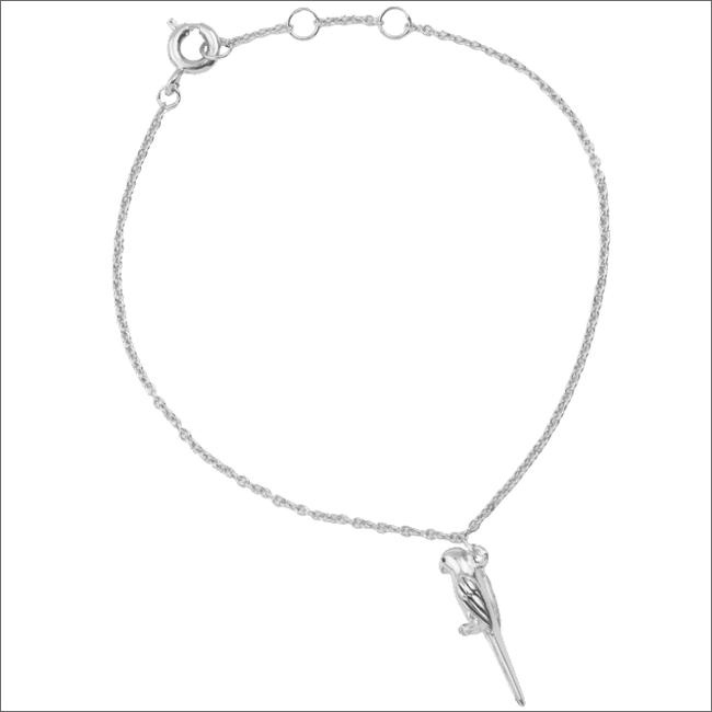 Zilveren ALLTHELUCKINTHEWORLD Armband SOUVENIR BRACELET PARROT - large