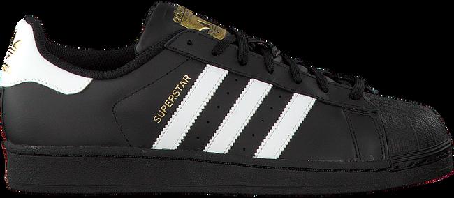 Zwarte ADIDAS Sneakers SUPERSTAR HEREN