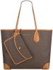 Bruine MICHAEL KORS Shopper EVA LG TOTE  - small