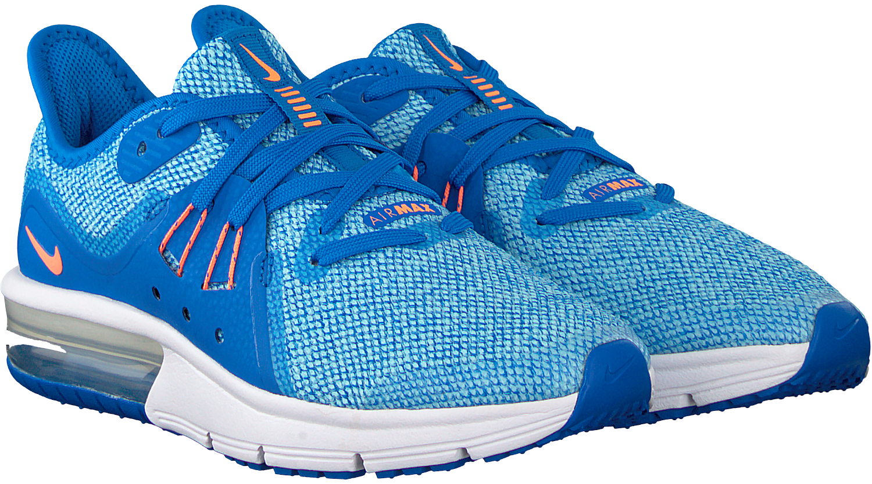 90318ba90d2 Blauwe NIKE Sneakers AIR MAX SEQUENT 3 KIDS - Omoda.nl
