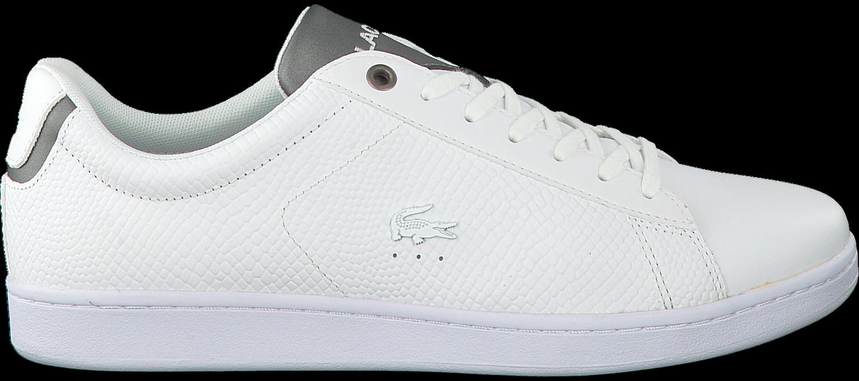 6855aee899f Witte LACOSTE Sneakers CARNABY EVO HEREN - Omoda.nl