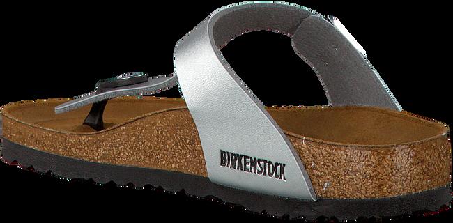 Zilveren BIRKENSTOCK PAPILLIO Slippers GIZEH  - large