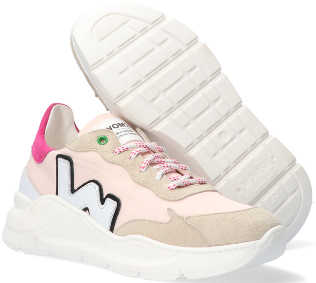 Roze WOMSH Lage sneakers WAVE  - large