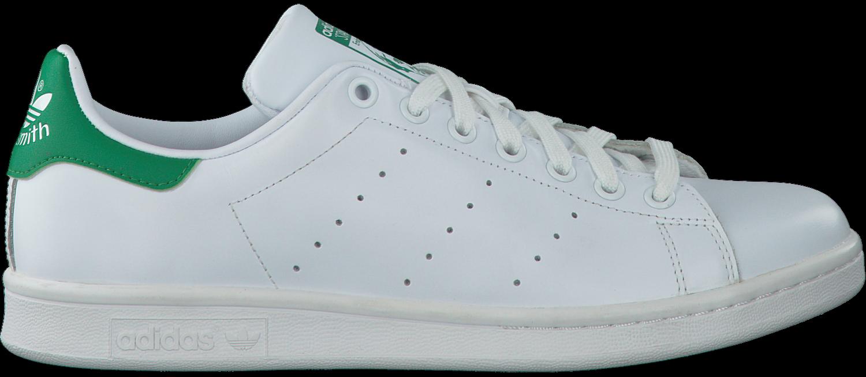Witte ADIDAS Sneakers STAN SMITH HEREN - Omoda.nl
