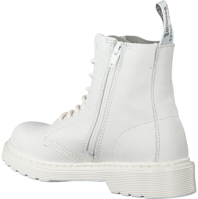 Witte DR MARTENS Veterboots 1460 PASCAL MONO K  - large