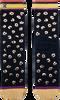 Zwarte XPOOOS Sokken SHIRLEY  - small