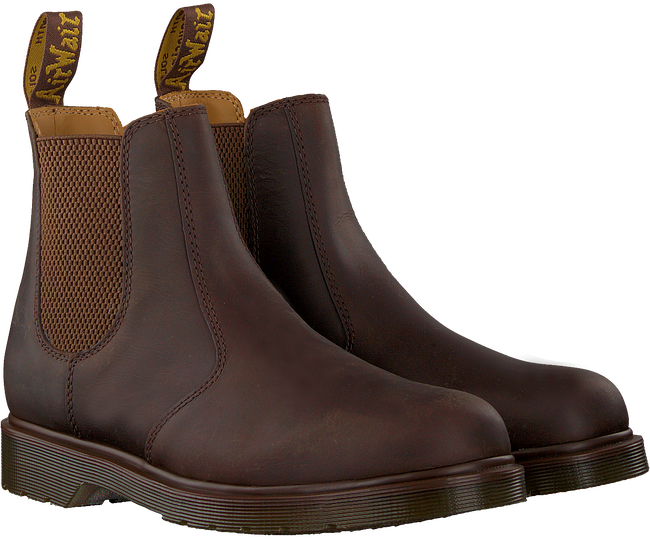 Bruine DR MARTENS Chelsea boots 2976 M - large