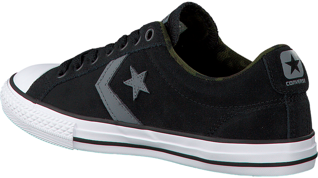 Zwarte CONVERSE Sneakers STAR PLAYER OX KIDS  - large