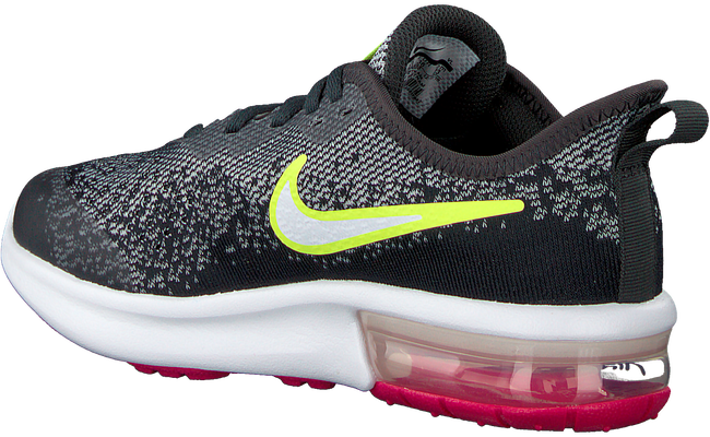 Grijze NIKE Sneakers AIR MAX SEQUENT 4  - large
