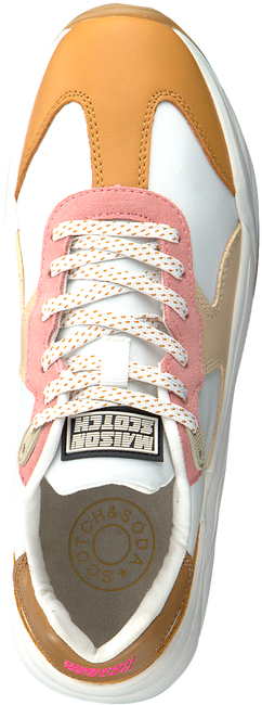 Witte SCOTCH & SODA Lage sneakers CELEST  - large