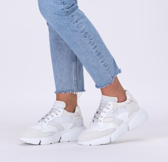 Witte COPENHAGEN STUDIOS Lage sneakers CPH555  - large