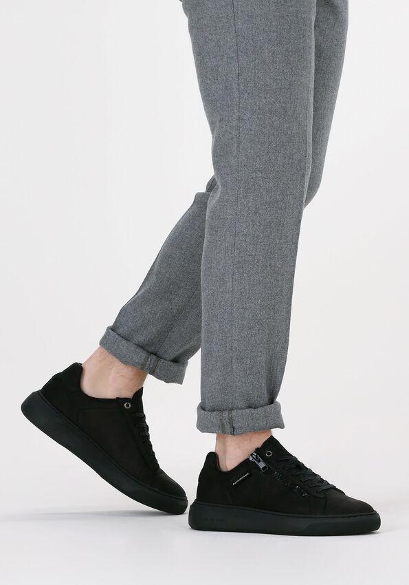 Zwarte CYCLEUR DE LUXE Lage sneakers ETAPE  - larger