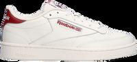 Witte REEBOK Lage sneakers CLUB C 85 MEN
