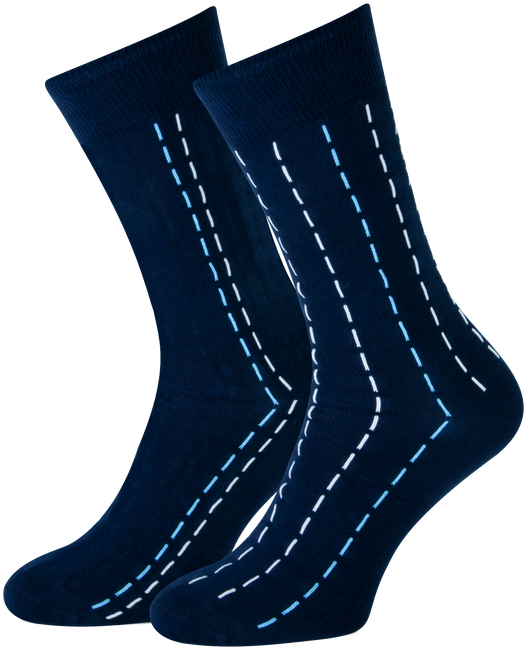 Blauwe MARCMARCS Sokken CAMIEL  - large