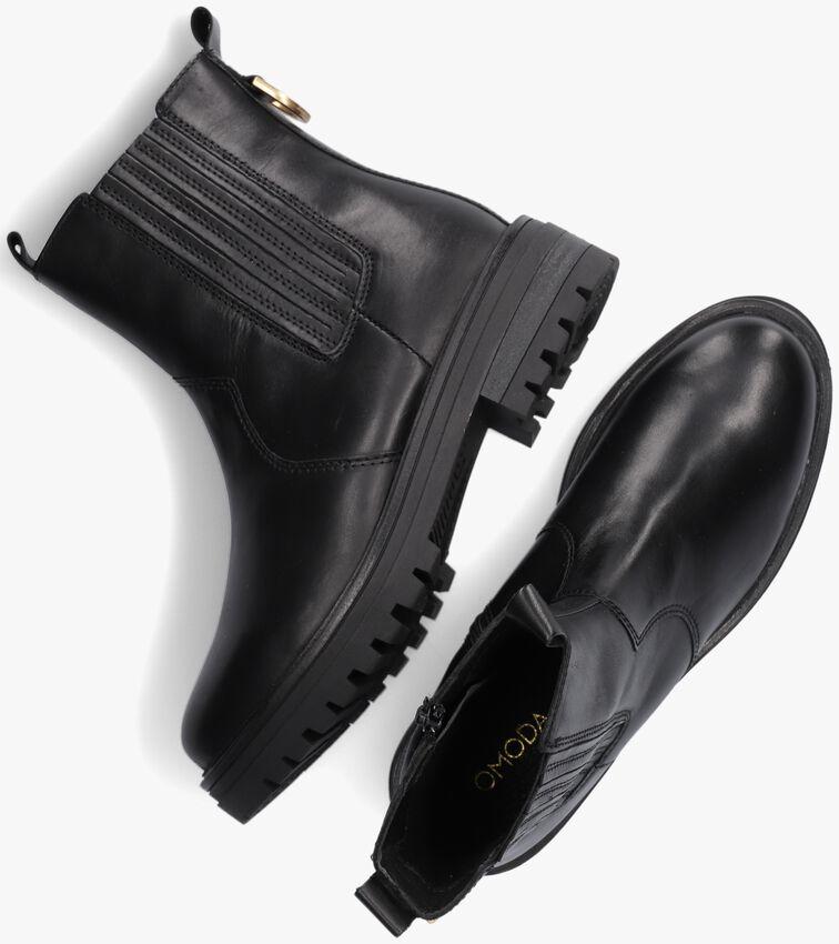 Zwarte OMODA Chelsea boots LPMONK-06  - larger