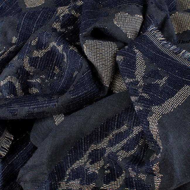 Blauwe I LOVE MY MOMENT Sjaal BELINDA - large