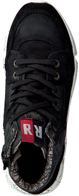 Zwarte RED-RAG Sneakers 15537 - large