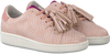 Roze STUDIO MAISON Sneakers SNEAKER SNAKE RUFFLE - small