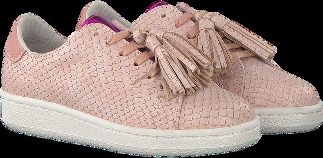 Roze STUDIO MAISON Sneakers SNEAKER SNAKE RUFFLE - large