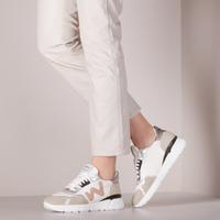 Witte WOMSH Lage sneakers VEGAN RUNNY  - medium