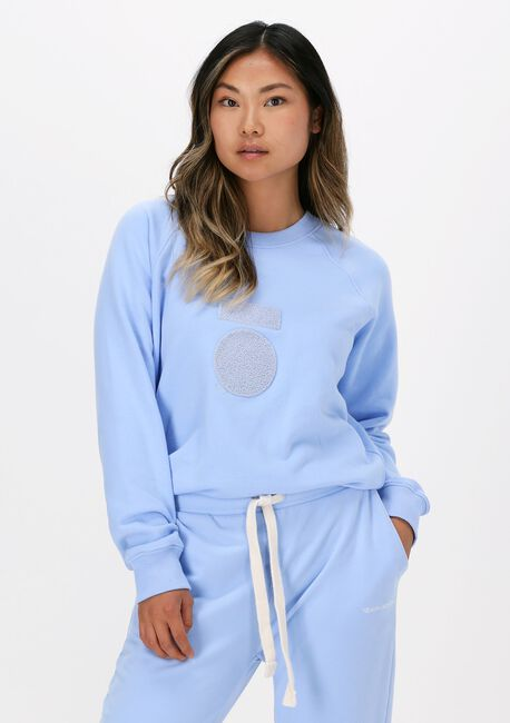 Blauwe 10 DAYS Sweater SWEATER TERRY - large