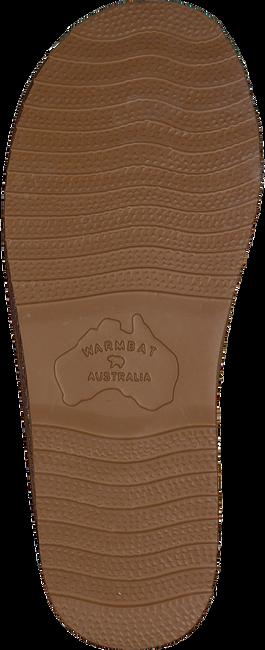 Cognac WARMBAT Pantoffels CLASSIC   - large