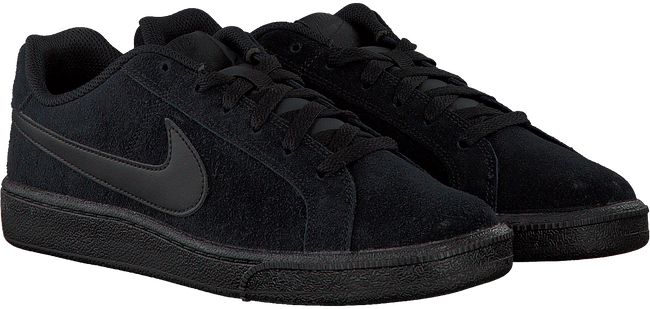 Zwarte NIKE Sneakers COURT ROYALE SUEDE MEN  - large