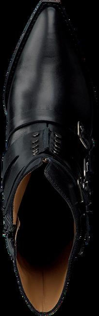 Zwarte TORAL Enkellaarsjes 12553  - large